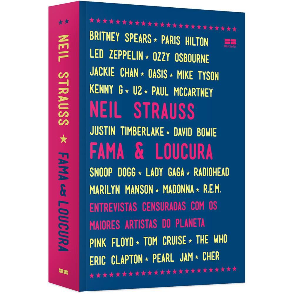 """Livro """"Fama & Loucura"""", de Neil StraussLivro """"Fama & Loucura"""", de Neil Strauss"""